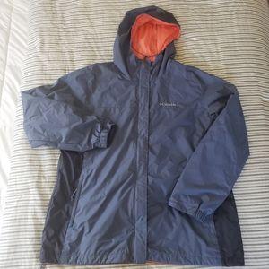 Women Columbia rain jacket